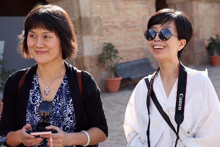 20/09/2015. Huang Li y Feng Shuni