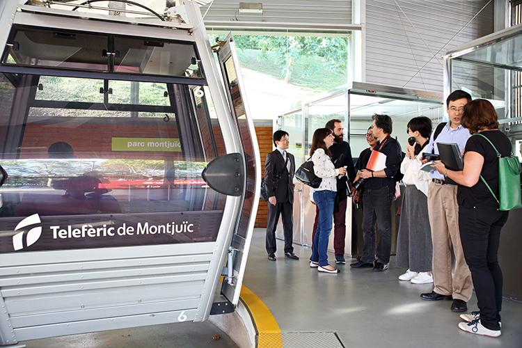 20/09/2015. Teleférico de Montjuic