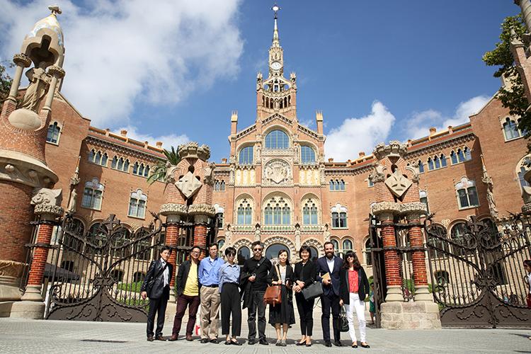 Los Líderes visitaron el Hospital de San Pau