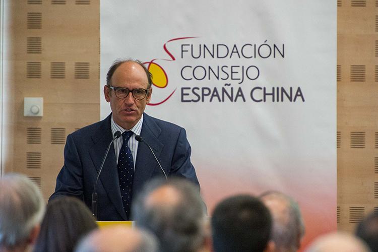Juan Lladó se dirige a los asistentes