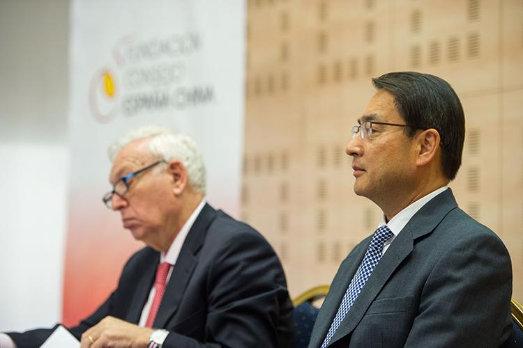José Manuel García-Margallo y Lyu Fan