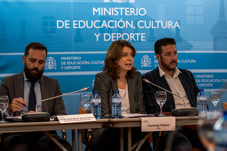 Reunión sobre oportunidades de co-producción España China en el MECD
