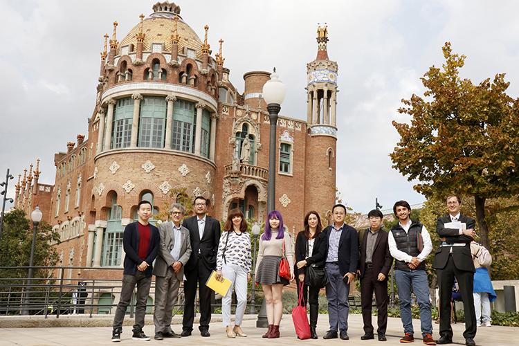 Visita a Casa Asia