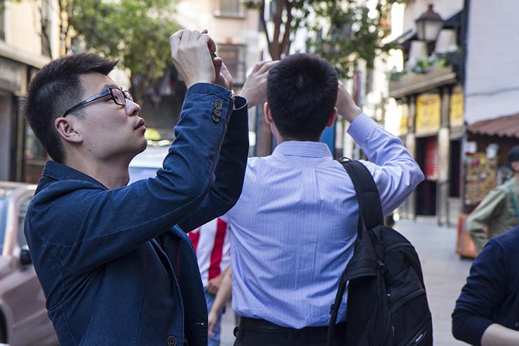 Imagen de la visita guiada por el centro de Madrid
