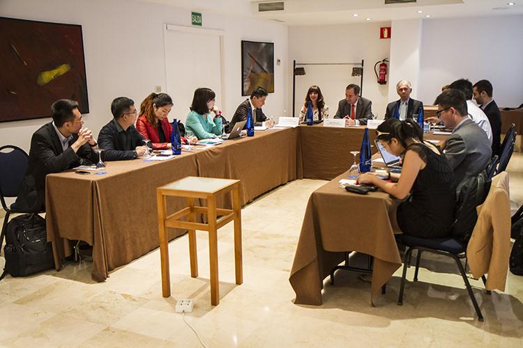Imagen general de la reunión de bienvenida