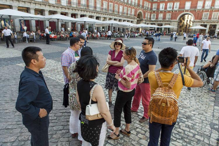 La visita guiada fue cortesía del Ayuntamiento de Madrid, patrono de la FCEC.