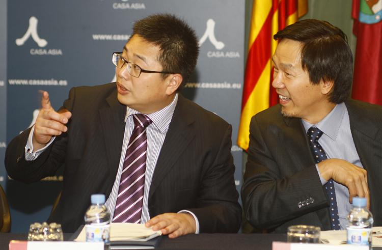 Imagen de la sesión en Casa Asia 'Internacionalización de la educación superior. Perspectivas desde China y Cataluña'