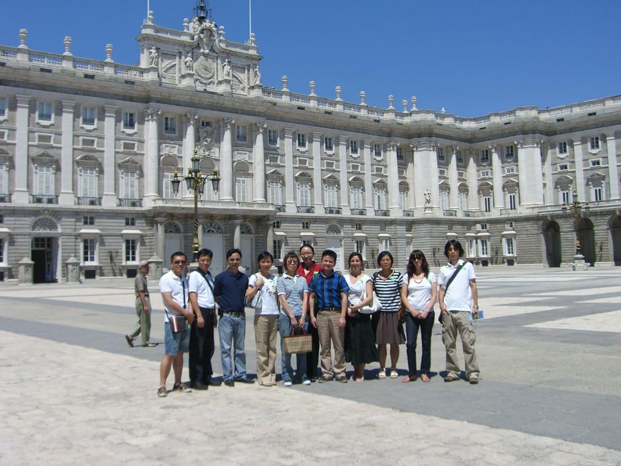 Palacio Real-grupo